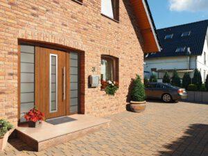 Einfamilienhaus mit Hörmann Haustür